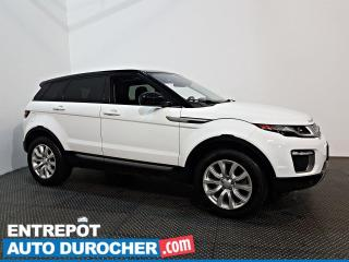 Used 2017 Land Rover Evoque SE AWD NAVIGATION - CUIR - A/C - CAMÉRA DE RECUL for sale in Laval, QC