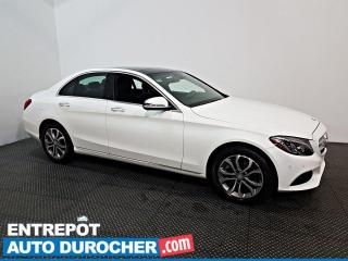 Used 2017 Mercedes-Benz C-Class C 300 AWD Navigation Toit ouvrant - Cuir - A/C for sale in Laval, QC