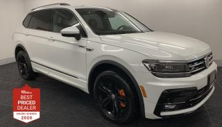 Used 2019 Volkswagen Tiguan HIGHLINE 4MOTION R-LINE *NAV - PANORAMIC ROOF* for sale in Winnipeg, MB