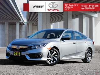 Used 2017 Honda Civic Sedan EX for sale in Whitby, ON
