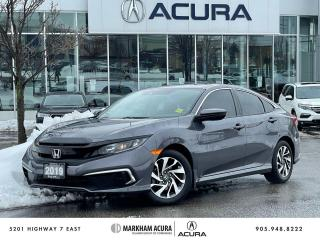 Used 2019 Honda Civic EX CVT SEDAN for sale in Markham, ON