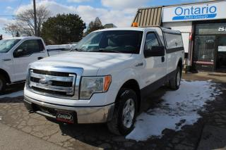 Used 2013 Ford F-150 XLT 4WD Reg Cab 8ft Long box Matching cap 145