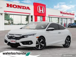 Used 2018 Honda Civic COUPE Touring for sale in Waterloo, ON
