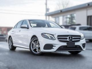 Used 2017 Mercedes-Benz E-Class E300 4MATIC | NAV | PANOROOF |AMG | 360 CAM | LOADED for sale in North York, ON