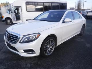 Used 2016 Mercedes-Benz S-Class S550 4MATIC for sale in Burnaby, BC