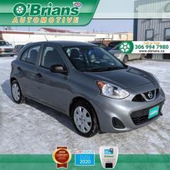 Used 2015 Nissan Micra S for sale in Saskatoon, SK