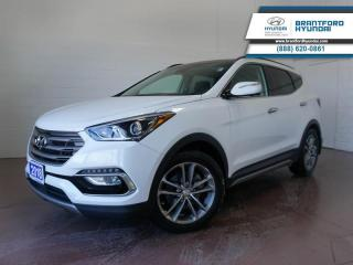 Used 2018 Hyundai Santa Fe Sport 1 OWNER | FULLY SERVICED HERE | BACK UP CAM  - $183 B/W for sale in Brantford, ON