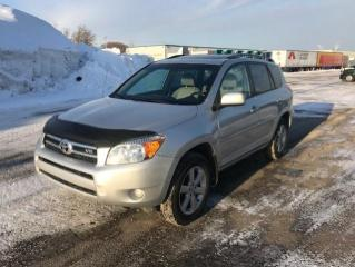 Used 2008 Toyota RAV4 4 portes, 4 roues motrices V6 Limited for sale in Québec, QC