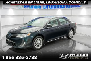 Used 2012 Toyota Camry HYBRID XLE + GARANTIE + A/C + CRUISE + MAGS + W for sale in Drummondville, QC