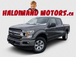 Used 2018 Ford F-150 XLT CREW 4X4 for sale in Cayuga, ON