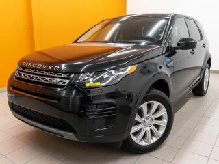 Used 2016 Land Rover Discovery Sport SE 4X4 HAYON ÉLECT SIÈGES / VOLANT CHAUFF *BAS KM* for sale in St-Jérôme, QC