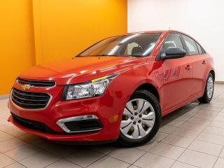 Used 2016 Chevrolet Cruze LS TOURING *WIFI* PORT USB *SIRIUS* BAS KM *PROMO for sale in St-Jérôme, QC