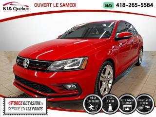 Used 2016 Volkswagen Jetta GLI* DSG* TOIT* CAMERA* SIEGES CHAUFFANT for sale in Québec, QC