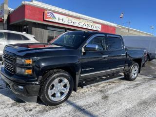 Used 2015 Chevrolet Silverado 1500 4WD Crew Cab LT CAMERA 20 POUCES for sale in Châteauguay, QC