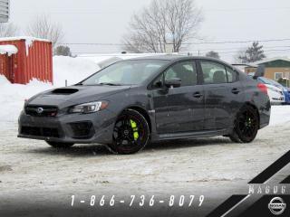 Used 2020 Subaru WRX STI SPORT + GARANTIE + TOIT + CAMERA! for sale in Magog, QC