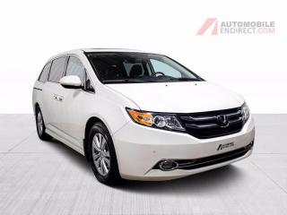 Used 2015 Honda Odyssey TOURING 8 PASSAGERS CUIR GPS MAGS CAMÉRA DE RECUL for sale in St-Hubert, QC