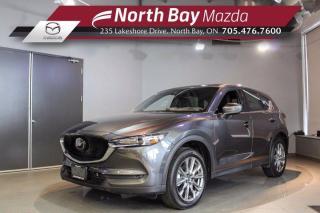 New 2021 Mazda CX-5 Signature Demo - Nappa Leather - Turbo - Sunroof for sale in North Bay, ON