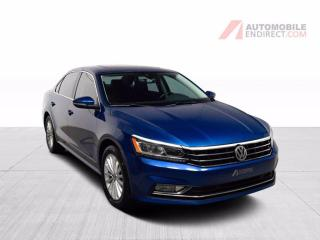 Used 2017 Volkswagen Passat COMFORTLINE TSI CUIR TOIT MAGS CAMERA DE RECUL for sale in Île-Perrot, QC