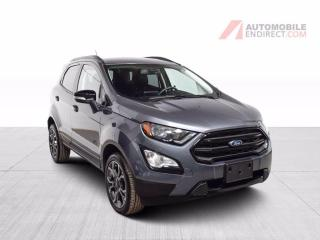 Used 2019 Ford EcoSport SES AWD MAGS GPS TOIT OUVRANT CAMÉRA DE RECUL for sale in Île-Perrot, QC