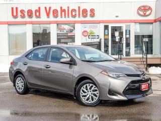 Used 2017 Toyota Corolla LE AWD HEAT-SEAT ALLOYS REV-CAM 1-OWNER CERTIFIED! for sale in North York, ON