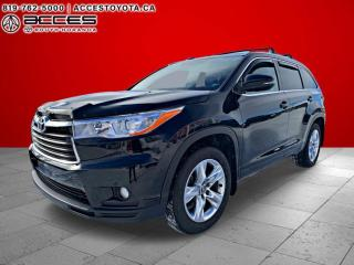 Used 2016 Toyota Highlander LIMITED 36000KM for sale in Rouyn-Noranda, QC