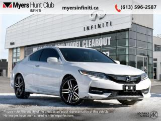Used 2016 Honda Accord Coupe Touring  - Navigation for sale in Ottawa, ON