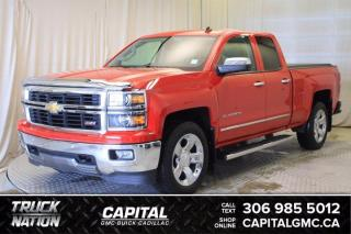Used 2014 Chevrolet Silverado 1500 LTZ with 2LZ Crew Cab *LEATHER* for sale in Regina, SK