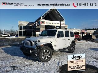New 2021 Jeep Wrangler Sahara for sale in Ottawa, ON