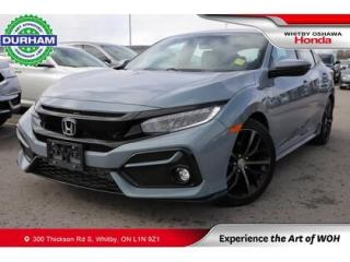 Used 2020 Honda Civic Sport Touring | CVT for sale in Whitby, ON