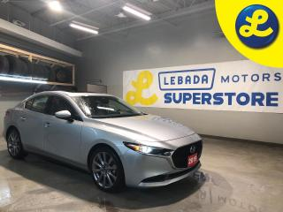 Used 2019 Mazda MAZDA3 GT * Navigation * Sunroof * Leather *  Apple Car Play * Android Auto * Smart City Brake Support (SCBS) and Rear Cross Traffic Alert (RCTA) * Advanced for sale in Cambridge, ON
