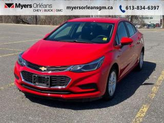Used 2017 Chevrolet Cruze LT  Ultra low kilometers! for sale in Orleans, ON