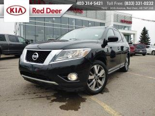 Used 2013 Nissan Pathfinder Platinum 4WD, 7 Passenger, Dual Sunroof, Navigation, Dual-Zone C for sale in Red Deer, AB