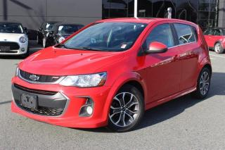 Used 2018 Chevrolet Sonic 5-door LT - 6AT for sale in Langley, BC
