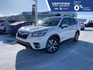 Used 2019 Subaru Forester Limited AWD | Front & Rear Heated Seats | Sunroof for sale in Winnipeg, MB