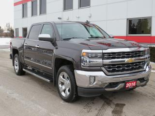 Used 2016 Chevrolet Silverado 1500 LTZ with Navigation for sale in Tillsonburg, ON