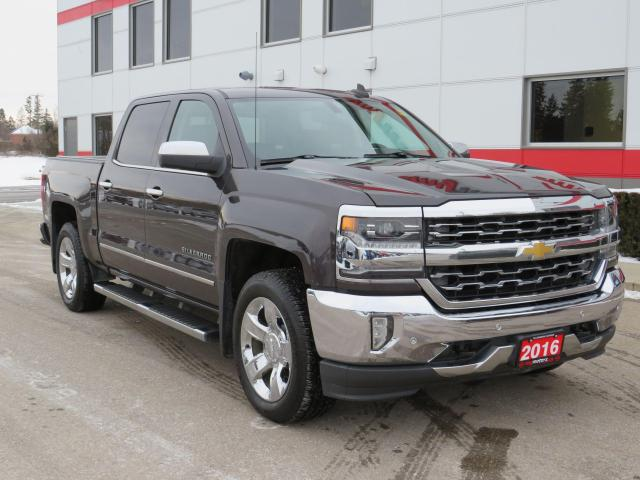 2016 Chevrolet Silverado 1500 LTZ with Navigation