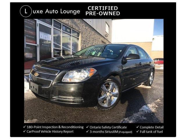 2011 Chevrolet Malibu LT PLATINUM EDITION, HEATED SEATS, SUPER LOW KMS!!