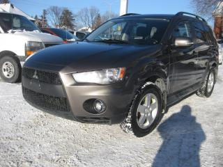 Used 2010 Mitsubishi Outlander LS 7 pass AWD Sunroof PM PL PW for sale in Ottawa, ON
