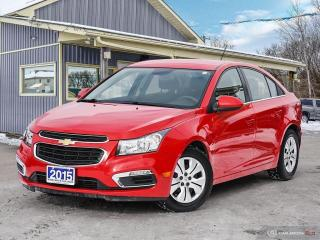 Used 2015 Chevrolet Cruze 1LT, LOW KMS, REMOTE START, R/V CAM, BLUETOOTH for sale in Orillia, ON