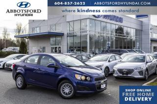 Used 2012 Chevrolet Sonic LS  - Bluetooth -  OnStar - $62 B/W for sale in Abbotsford, BC