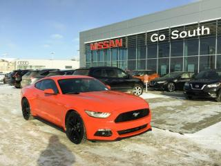 Used 2016 Ford Mustang ECOBOOST, PREMIUM, NAVIGATION, LEATHER for sale in Edmonton, AB