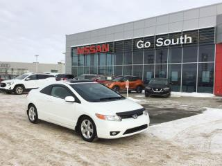 Used 2008 Honda Civic Cpe LX-SR, AUTO, SUNROOF for sale in Edmonton, AB