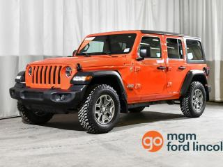 Used 2020 Jeep Wrangler UNLIMITED SPORT for sale in Red Deer, AB