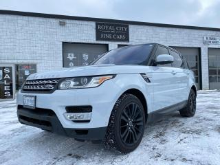Used 2016 Land Rover Range Rover Sport Td6 HSE Vision & Convenience Package for sale in Guelph, ON