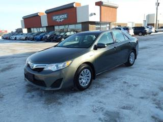 Used 2012 Toyota Camry HYBRID LE 4dr FWD 4-Door Sedan for sale in Steinbach, MB