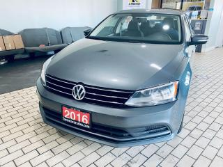 Used 2016 Volkswagen Jetta TRENDLINE+ I AUTO I APPLE ANDROID I NO ACCIDENT for sale in Brampton, ON