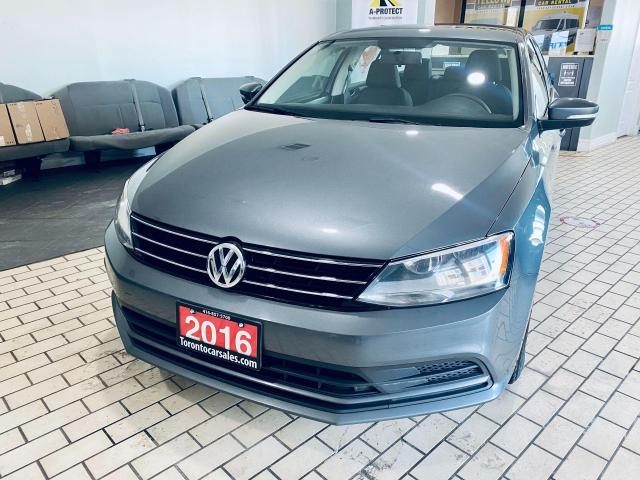 2016 Volkswagen Jetta TRENDLINE+ I AUTO I APPLE ANDROID I NO ACCIDENT