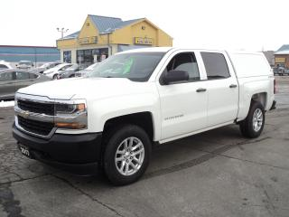 Used 2017 Chevrolet Silverado 1500 LS CrewCab 4x4 4.3L 5.5ft Box for sale in Brantford, ON