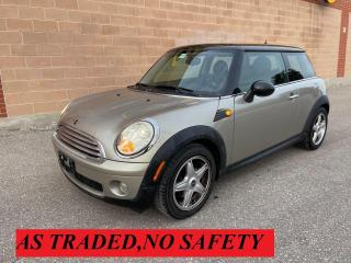 Used 2007 MINI Cooper 2 DOOR /MANUAL TRANSMISSION for sale in Oakville, ON