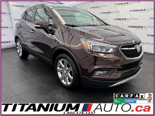 Used 2017 Buick Encore Essence+GPS+Leather+Sunroof+Blind Spot+Remote Star for sale in London, ON